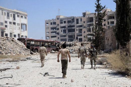 Dejan 90 muertos bombardeos en diferentes localidades de Siria