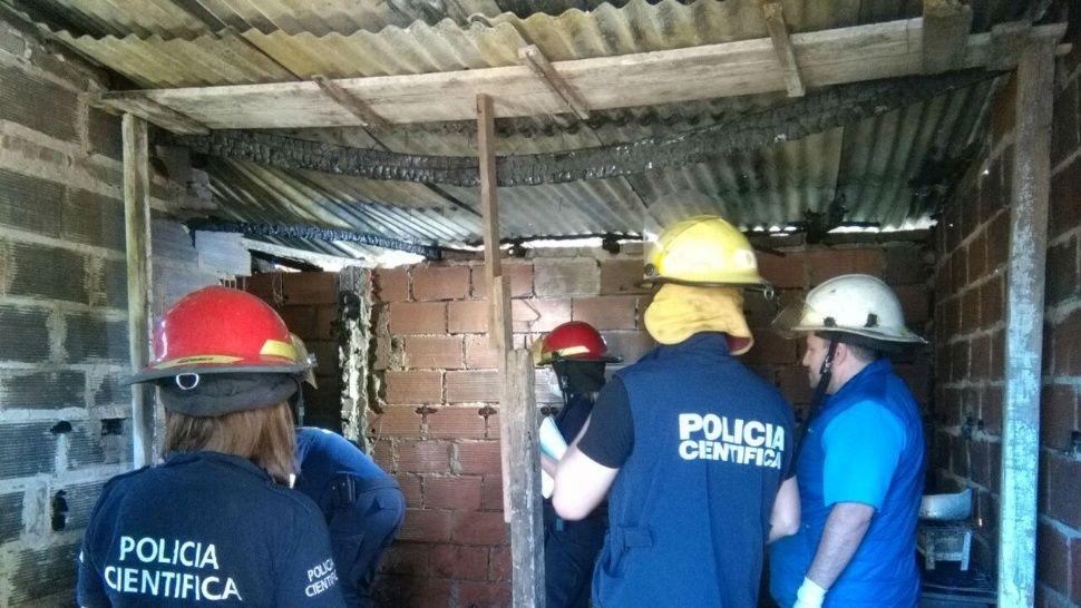 Una familia entera murió producto de un incendio en Solano