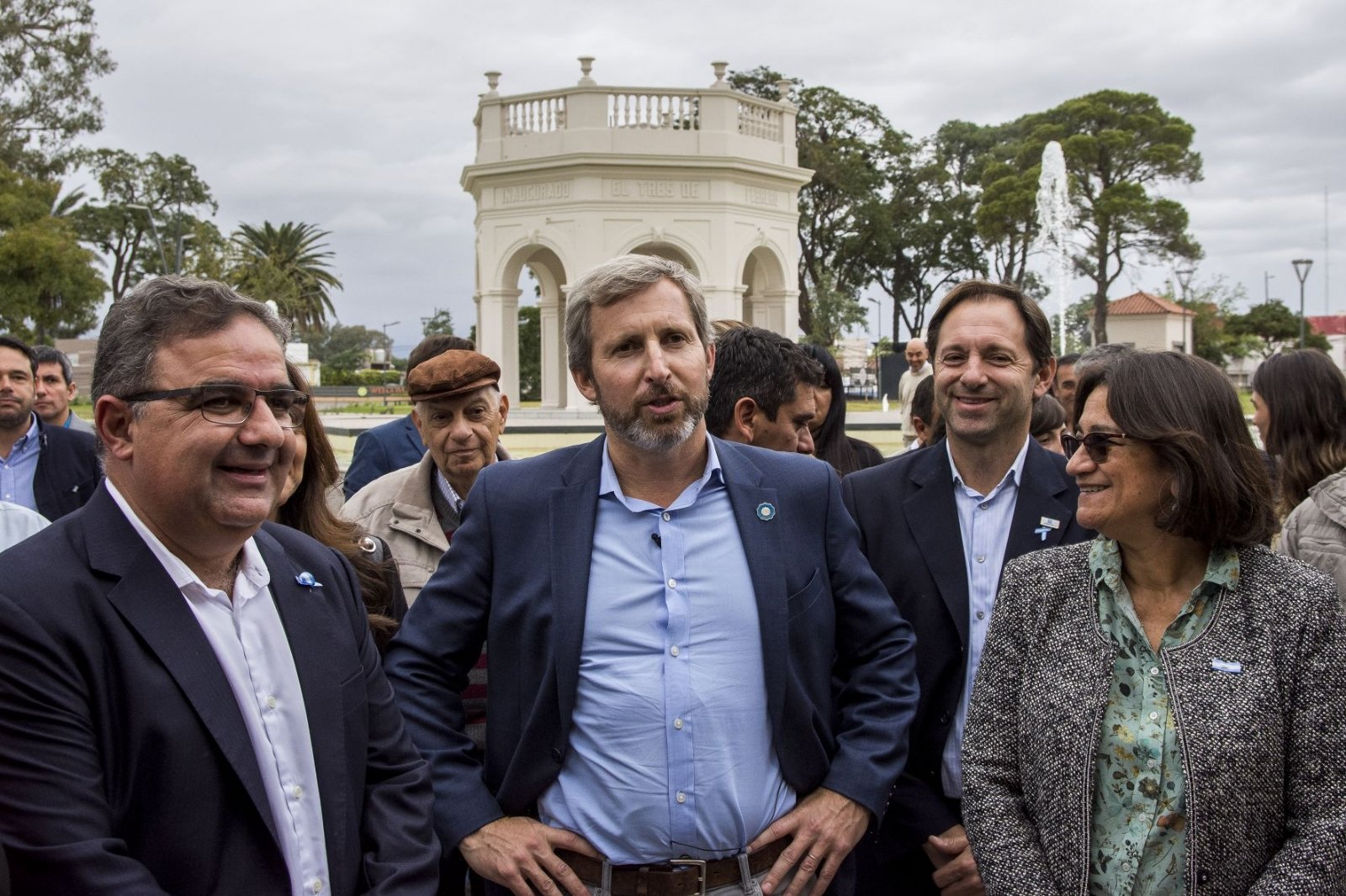 Frigerio adelantó que Macri presentará