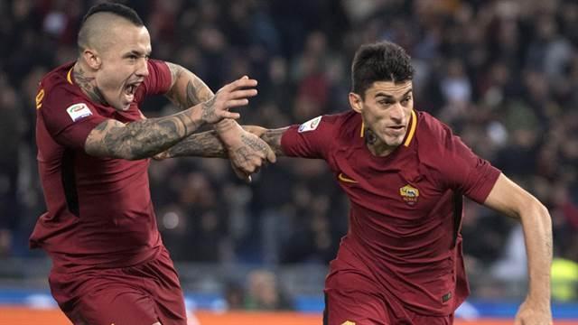 Con Héctor Moreno en el banquillo, AS Roma gana clásico a Lazio