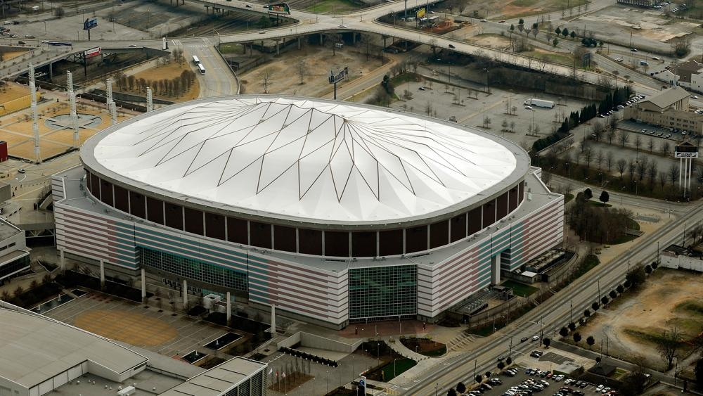 Voló un estadio en Atlanta
