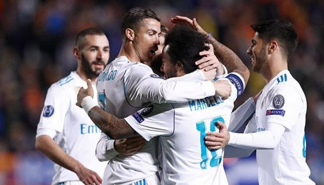 Real Madrid destrozó al APOEL en un tiempo — Champions League