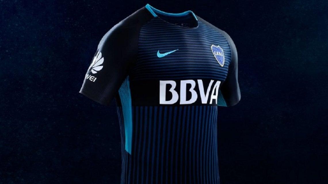 Nike dio a conocer la tercera camiseta de Boca para esta temporada