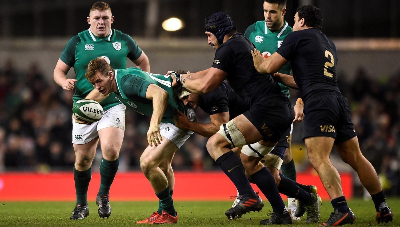 Los Pumas cierran la gira frente a la difícil Irlanda