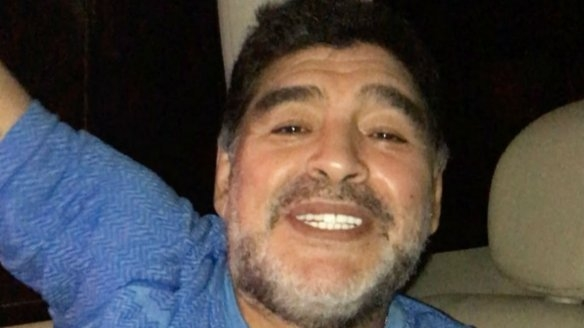 Su saludo especial por Navidad — Diego Maradona
