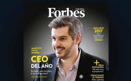 Marcos Peña, CEO del año según la revista Forbes — Argentina SA