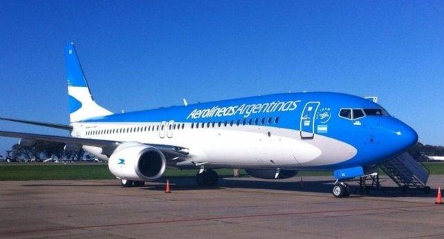 Aerolíneas Argentinas presentó su Boeing 737 MAX