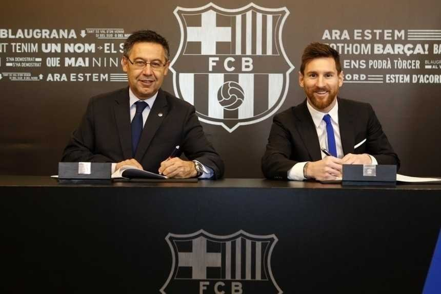 Hasta junio de 2021 Messi cobrará 4.000 dólares por minuto