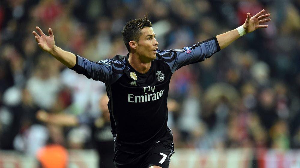 Real Madrid remonta 2-1 en Múnich con doblete de Cristiano Ronaldo