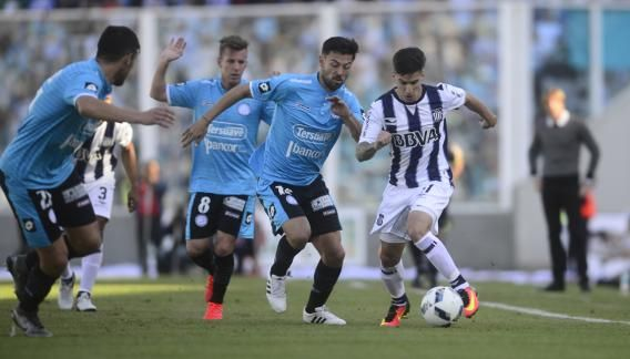 Belgrano-Talleres: Tiraron a un hincha desde la tribuna