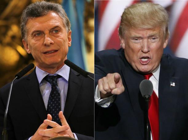 Trump apoya a Macri y asegura que