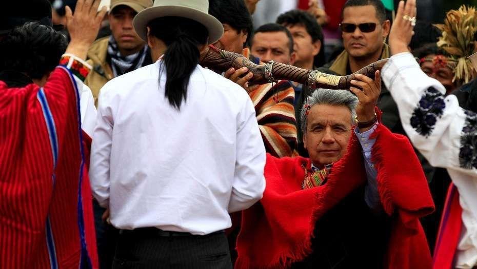 Macri sufrió una descompensación en la asunción del Presidente de Ecuador