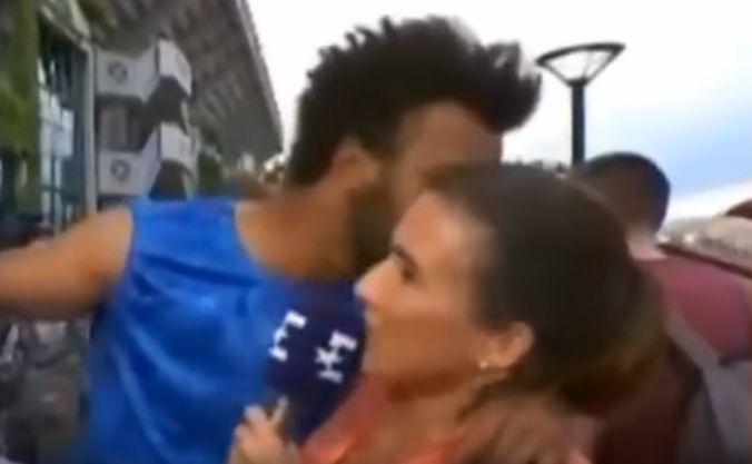 Expulsaron a un tenista francés por acosar a una periodista — Roland Garros