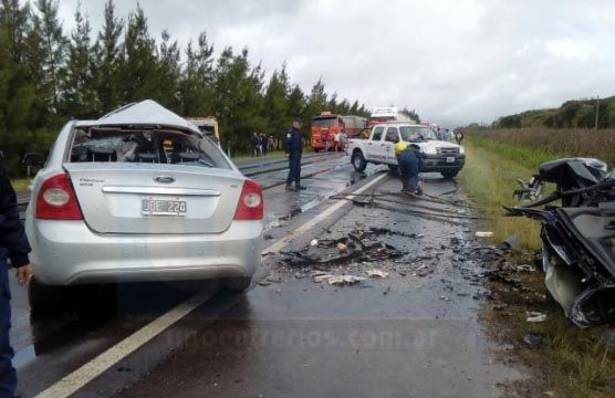 Cinco personas fallecidas en un accidente en la Ruta 26