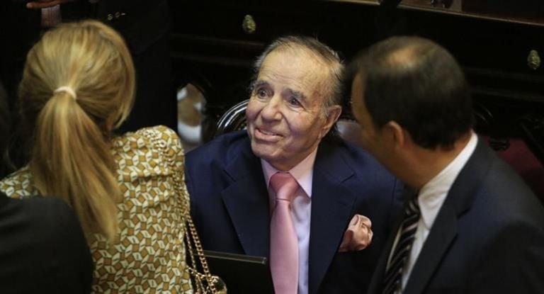 Exhumaron los restos de Carlos Menem Junior