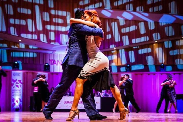 Los catamarqueños Miguel y Yanel en la final — Mundial de Tango