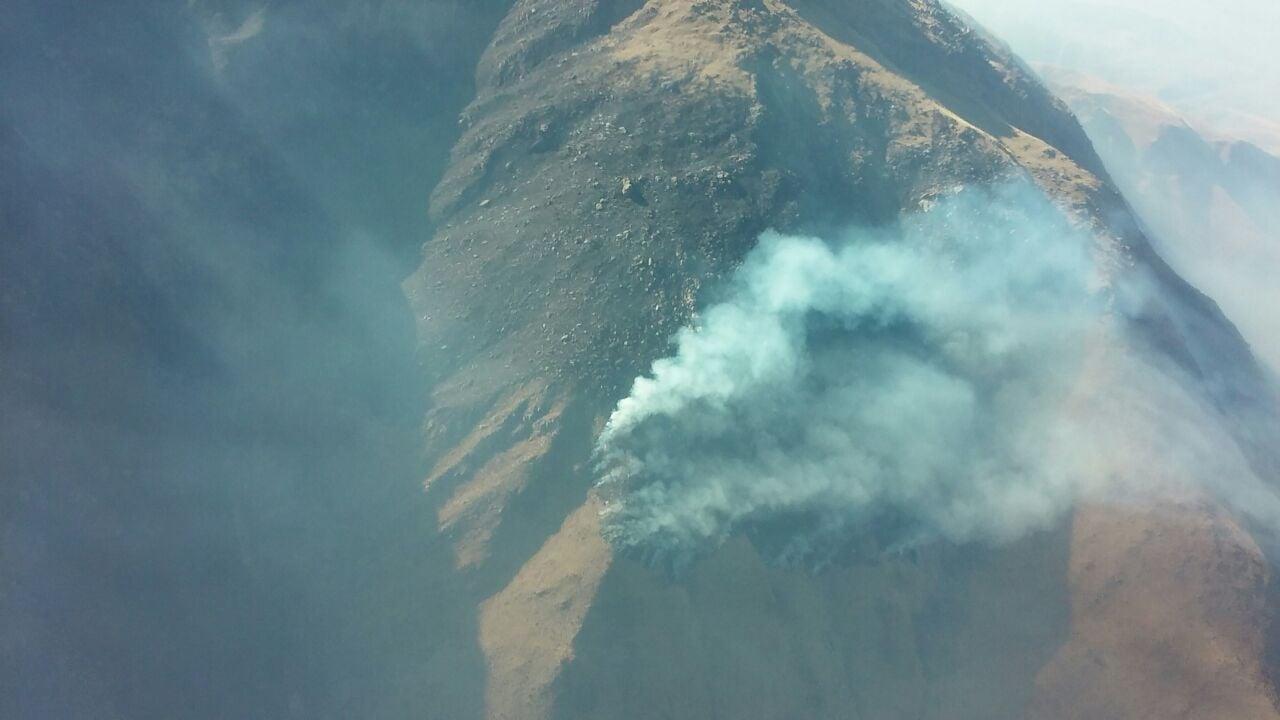 Los incendios ya afectaron más de 2.000 hectáreas — Catamarca