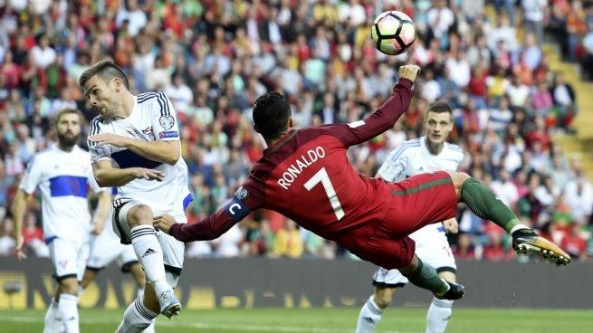 Con Cristiano Ronaldo, Portugal enfrenta a Islas Feroe por las Eliminatorias europeas