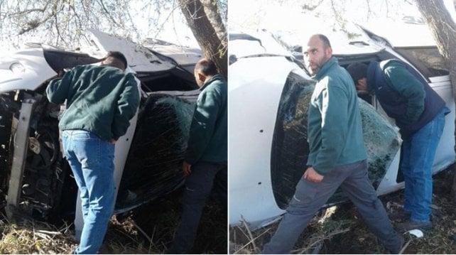 Conmoción en Godoy Cruz: Facundo Cobos sufrió un choque pero salió ileso