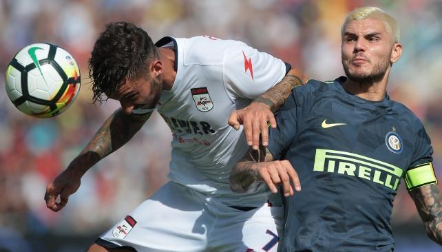 Inter ganó y sigue con puntaje ideal