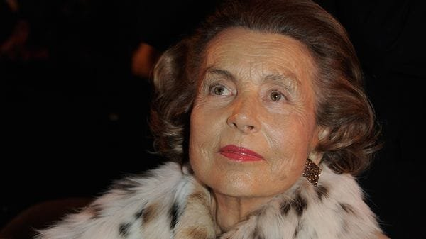 Fallece heredera de L'Oréal, la multimillonaria francesa Liliane Bettencourt