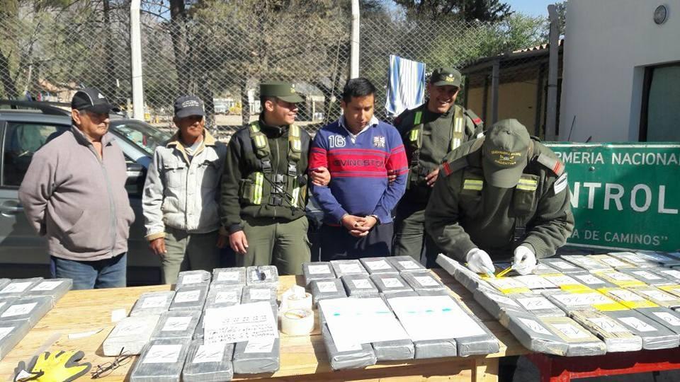 Secuestraron más de 100 kilos de cocaína en Cafayate