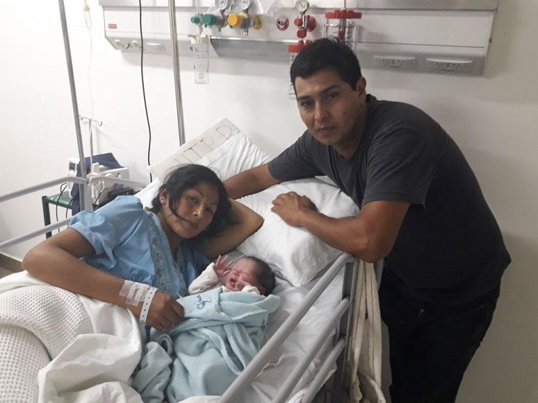 Jujuy: el primer bebé del 2018 nació en capital