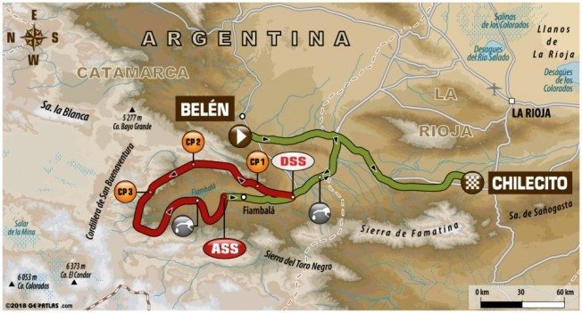 Cancelan etapa del Dakar para las motos y las quads
