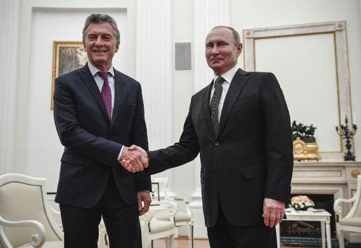 Macri llegó a Rusia y se reunirá con Putin