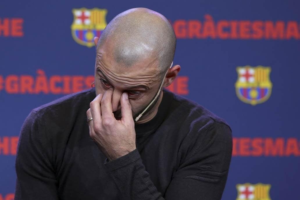 Javier Mascherano se despide mañana del Barcelona — Oficial