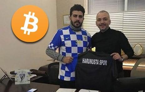 Club de Turquía realiza el primer fichaje con bitcoins