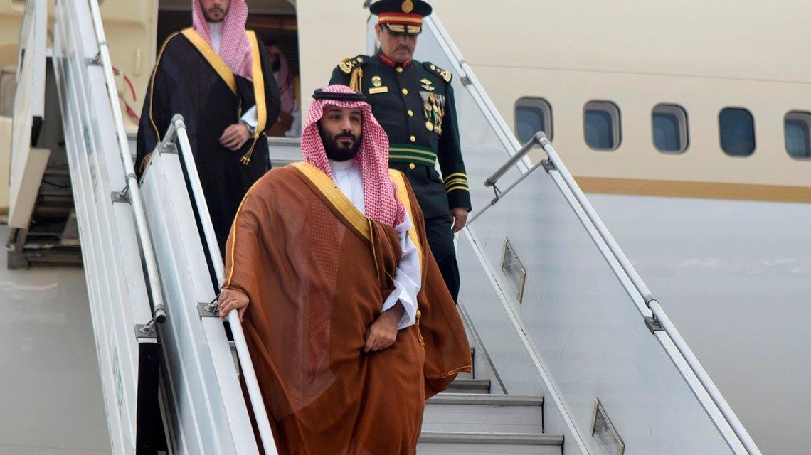 Piden informes al exterior del príncipe saudita, pero no quedará detenido