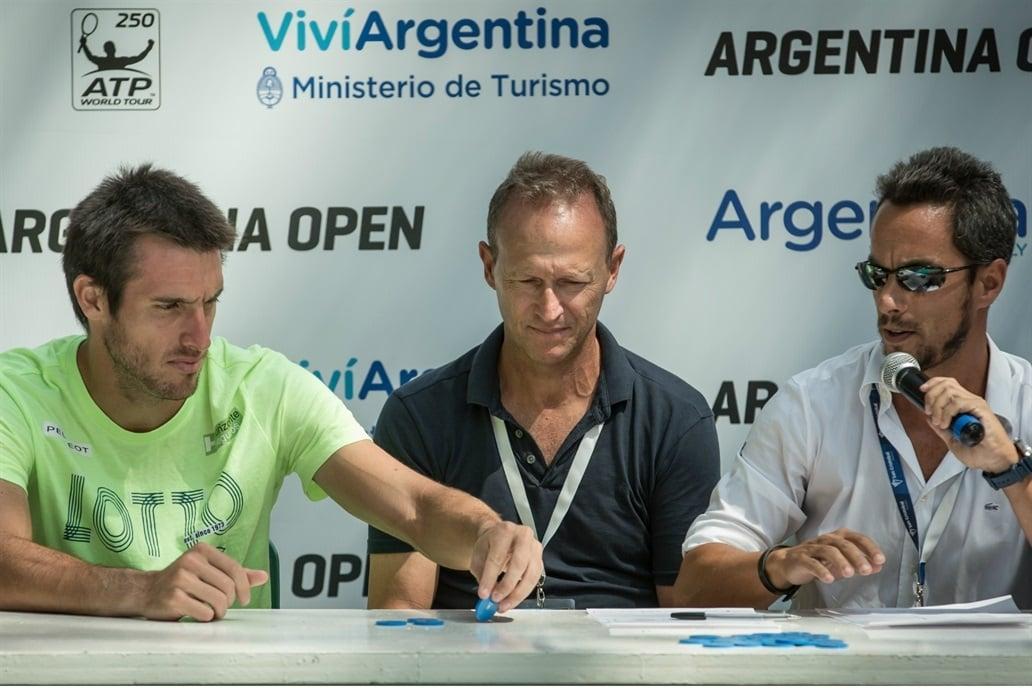 Se sorteó el cuadro del Argentina Open — Tenis