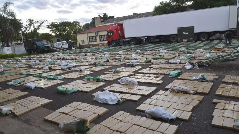 Decomisaron casi diez toneladas de marihuana en Misiones