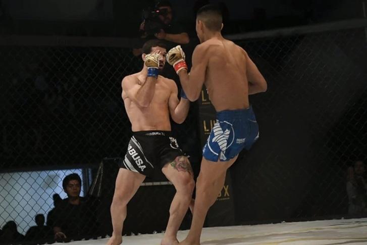 Así fue la fractura del luchador de MMA Irving Amaya — Vídeo