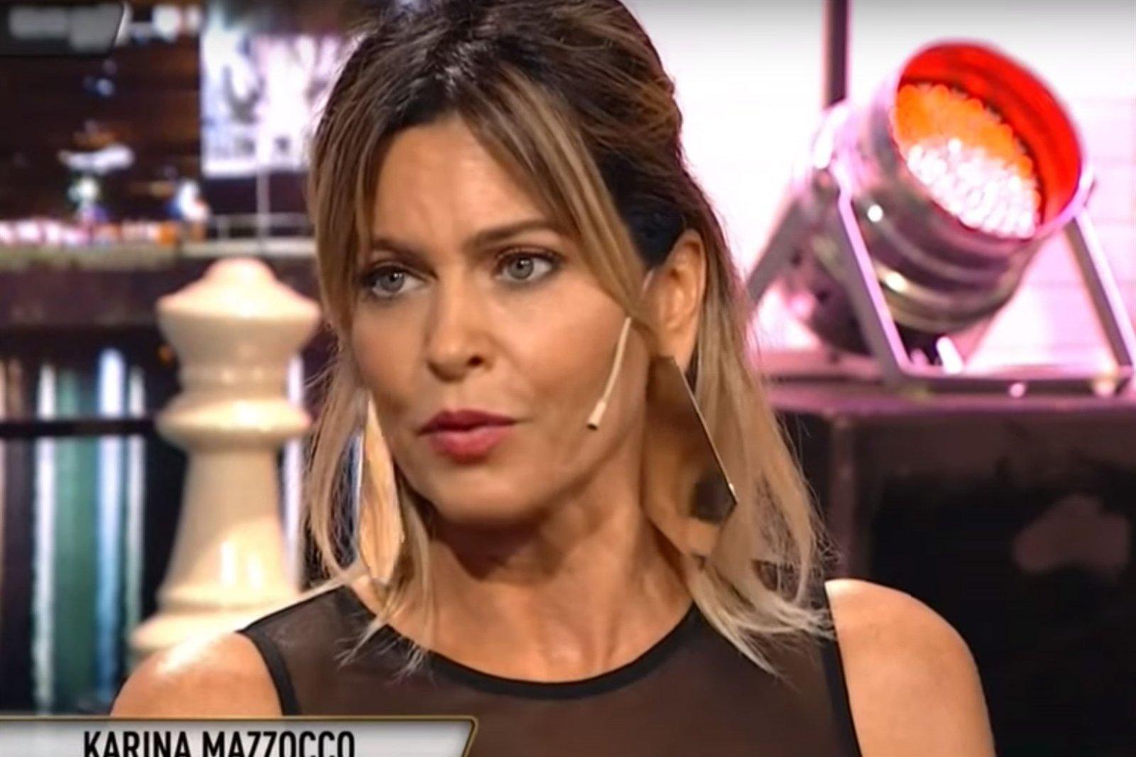 Karina Mazzocco contó que sufrió abuso por parte de Pettinato