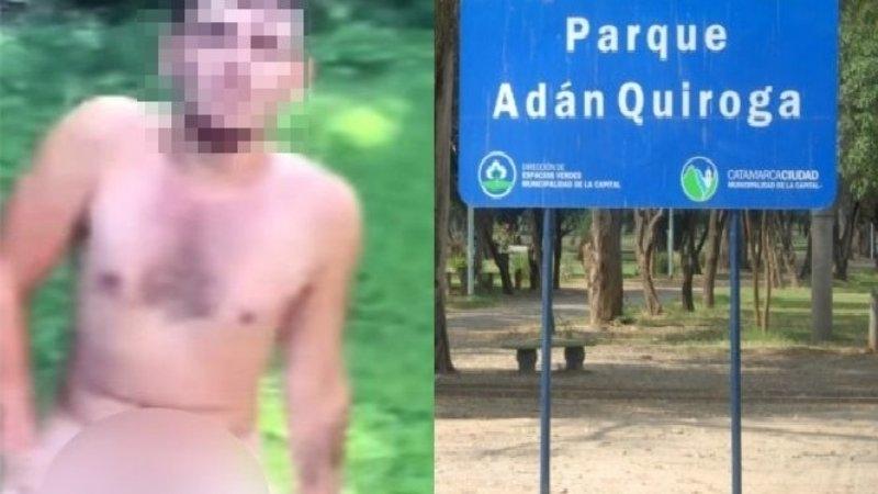 Quedo libre el exhibicionista del Parque Adán Quiroga - Diario El Esquiu