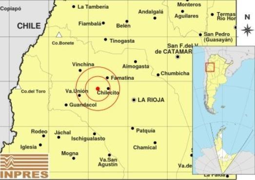 Tembló en La Rioja y se sintió en San Juan