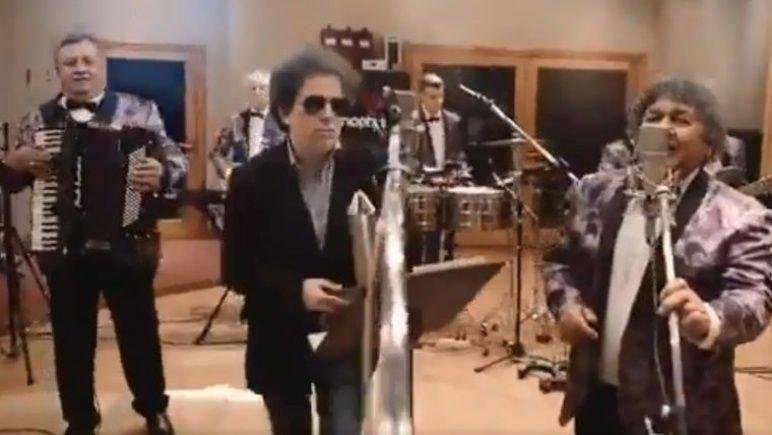 ¡Los Palmeras y Andrés Calamaro juntos! ¡No te pierdas el video!
