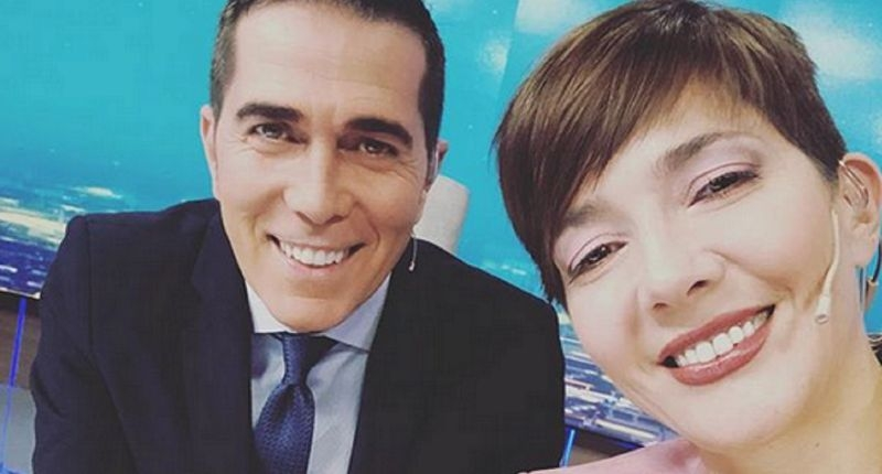 Un amoroso video muestra a Rodolfo Barili y Cristina Pérez acaramelados