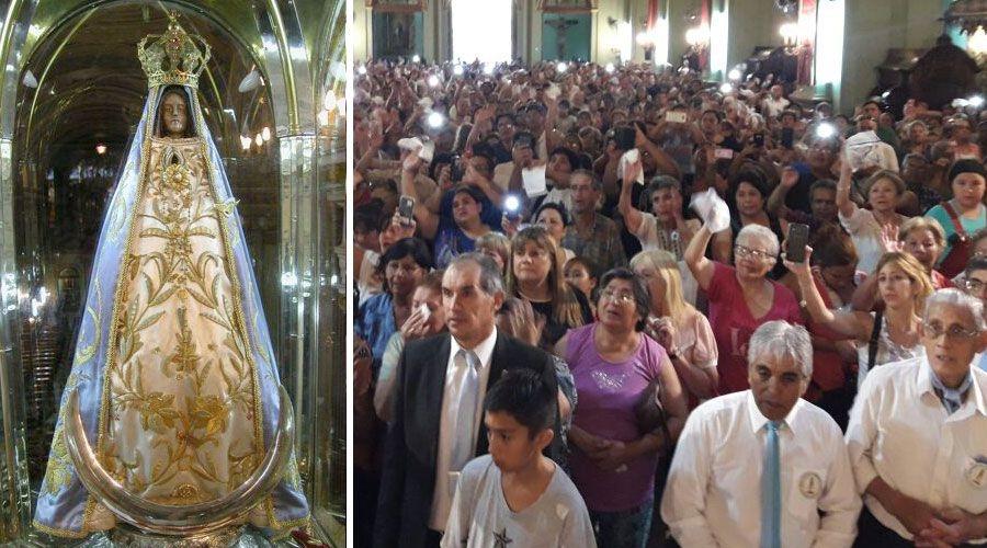 12f6179501 2 fotos. Hoy se cumplen 45 años de la declaración de la Virgen del Valle ...