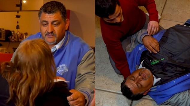 Hombre cae desmayado en 'Exponiendo infieles' y termina en tragedia