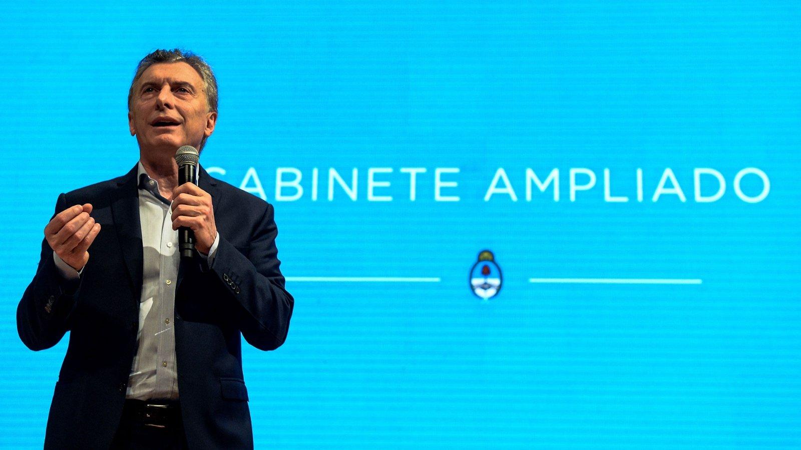 Macri sacado contra la oposición: