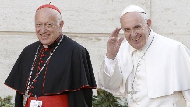 Francisco aceptó la renuncia del Cardenal Ezzati como Arzobispo de Chile - Mundo
