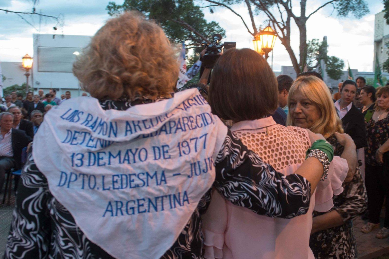 Lucía participó del acto oficial de la Memoria por la verdad y la Justicia