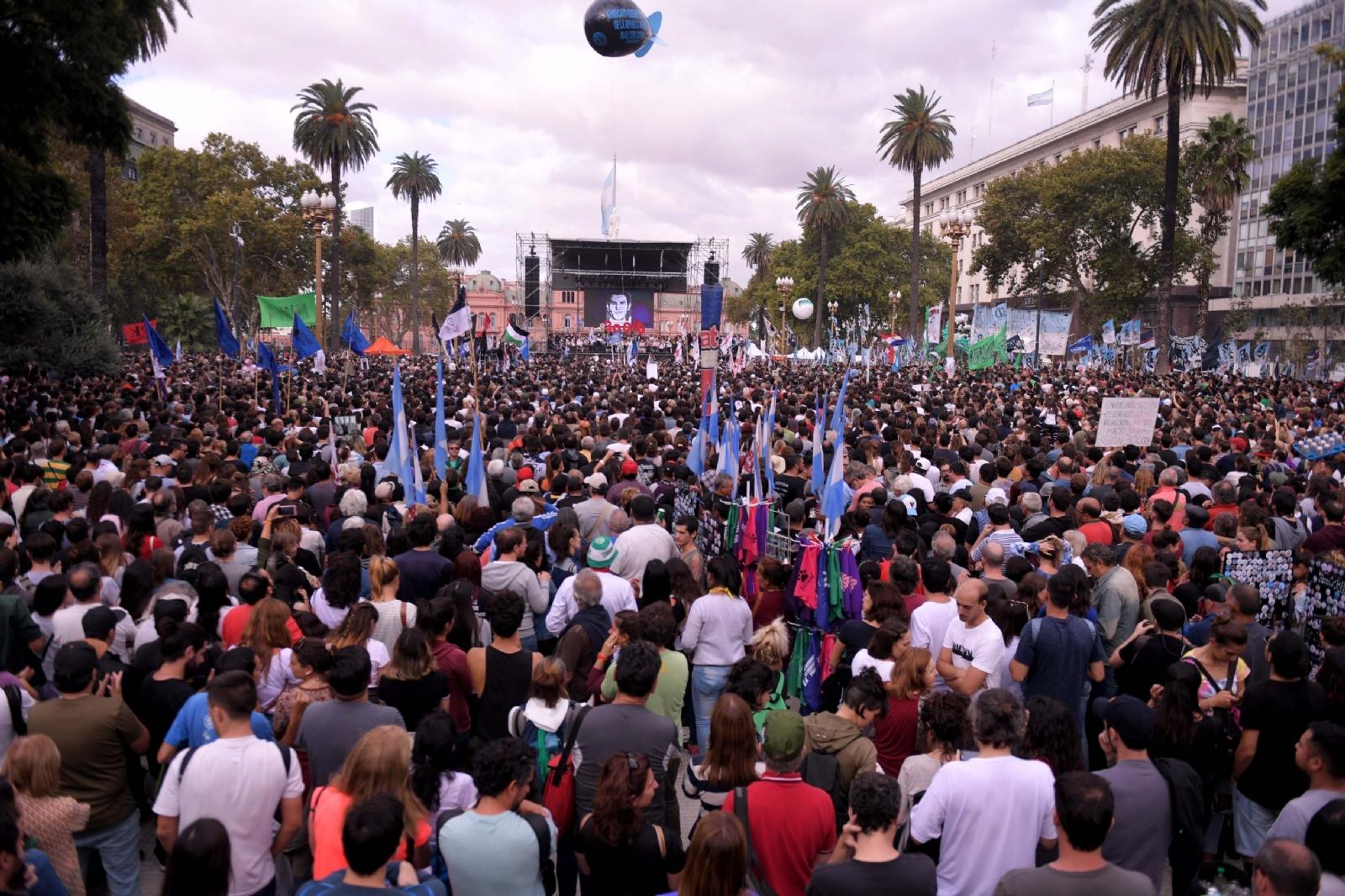 Política: Santiago marchó por la Memoria, la Verdad y la Justicia
