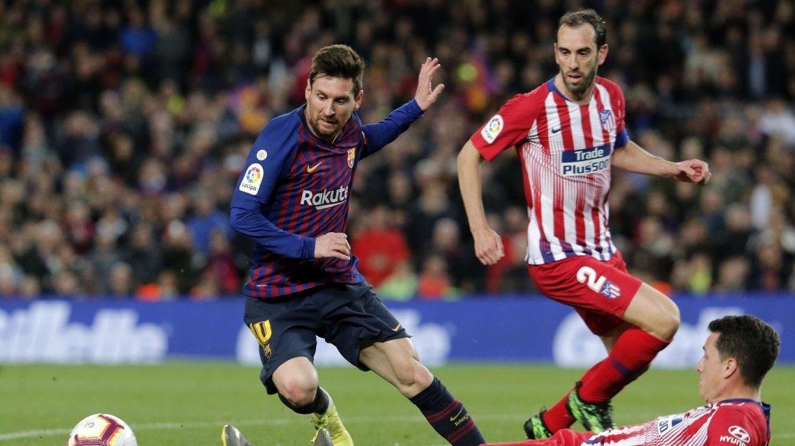 Morata se lesiona y sería baja ante Barça