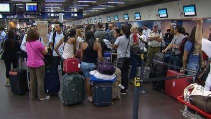 Una medida de fuerza provocaría demoras en todos los aeropuertos del país