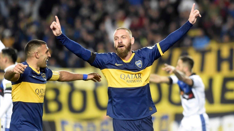 Medios italianos aseguran que De Rossi podría rescindir su contrato con Boca