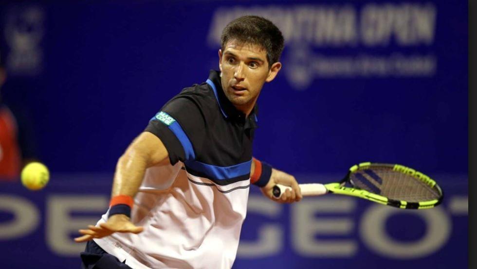Delbonis perdió y se despidió del ATP de Cerdeña